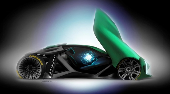 Unofficial Jaguar Naked Concept Car Looks Like It Belongs To Year 3016