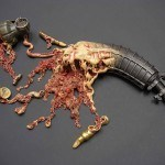 Guns And Gore Perfectly Illustrated By Artist Johnson Tsang