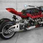Lazareth LM 847 Is A 4-Wheel Monster Bike Powered By 470 HP Maserati Engine