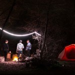 Luminoodle Color and Basecamp Light Ropes Add Colors To Your Campsite