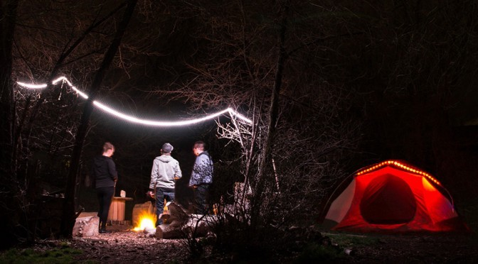Luminoodle Color and Basecamp Portable Light Ropes
