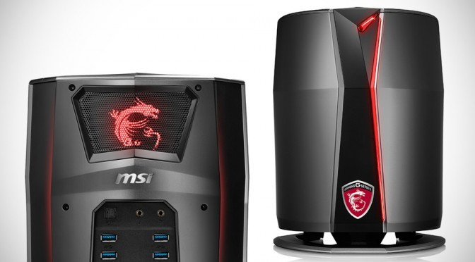 MSI Vortex G65: Powerful Gaming PC With Seriously Tiny Footprint