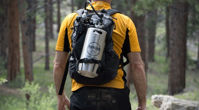 ManCan Lets You Enjoy Your Favorite Cold, Crisp Beer Even In The Wild