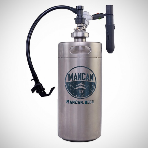 ManCan Personal Keg System