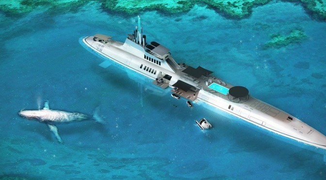 Migaloo M-Series Private Submersible Yachts