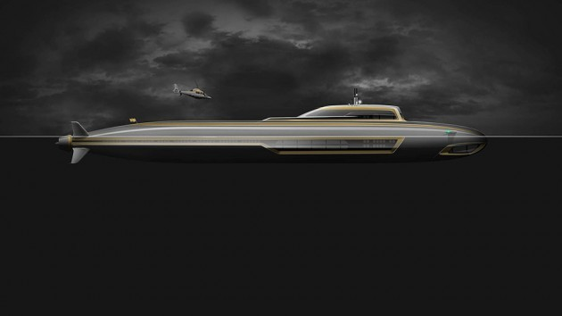 Migaloo M-Series Private Submersible Yachts M5