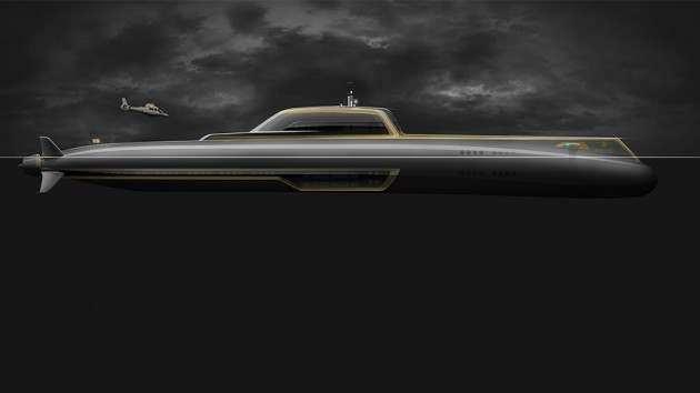 Migaloo M-Series Private Submersible Yachts M6