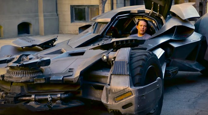 Find Out How You Can Take A Spin In Batman V Superman's Batmobile