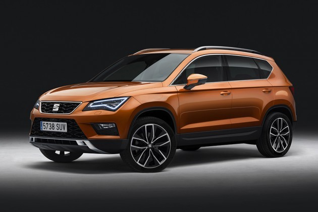 SEAT Ateca SUV at Geneva