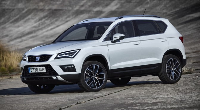 SEAT Unveils Its Very First SUV, 'Ateca', At Geneva Motor Show