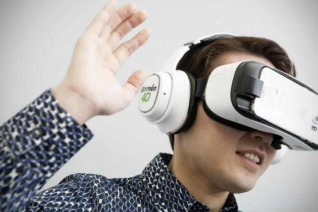 Samsung Entrim 4D VR Headset