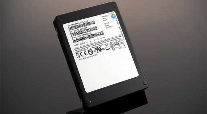 Samsung 'PM1633a' 15.36TB SSD