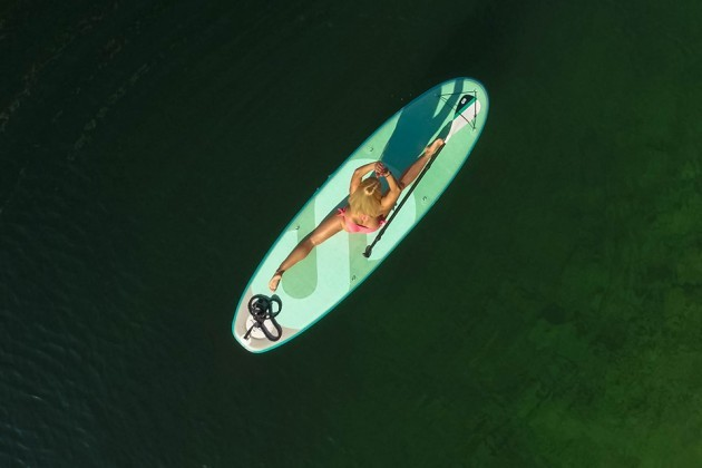 SipaBoards Air Self-inflating Standup Paddleboard Balance