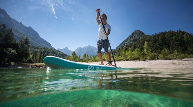 SipaBoards Air Standup Paddleboard Self-inflates In 5 Minutes