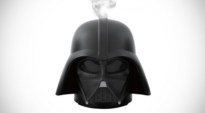 This Darth Vader Is Fuming Mad, Dispenses Mist To Humidify Your Room