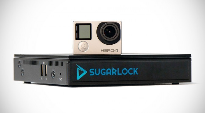 Sugarlock Action Cam Dock for GoPro and Drones
