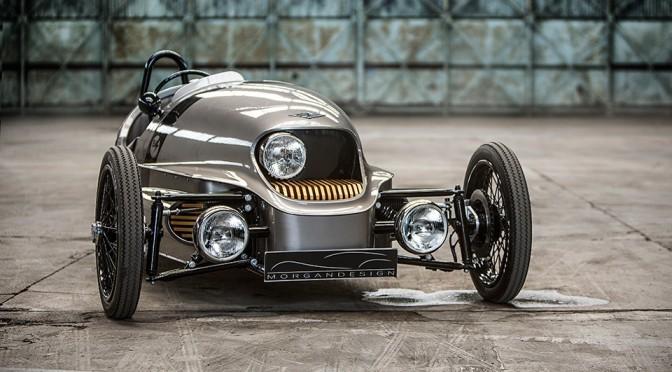 Morgan Motor EV3: 500 KG 3-Wheel EV With 150 Miles Range