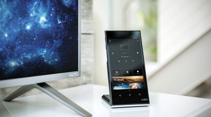 Vizio SmartCast P-Series Ditches Remote In Favor Of Android Tablet