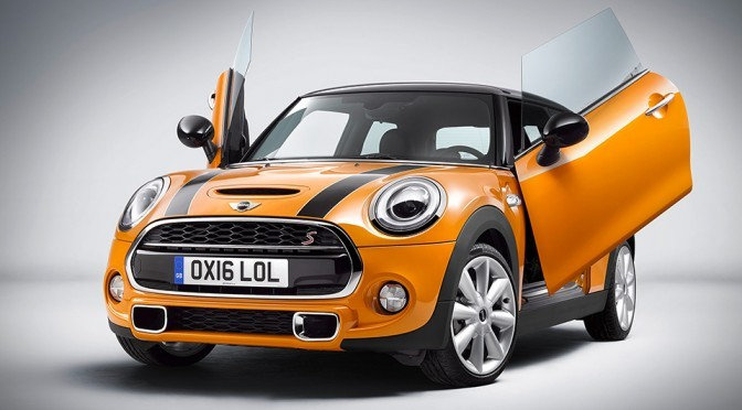 Good News! MINI Is Getting Scissor Doors As An Option! Or Is It Really?