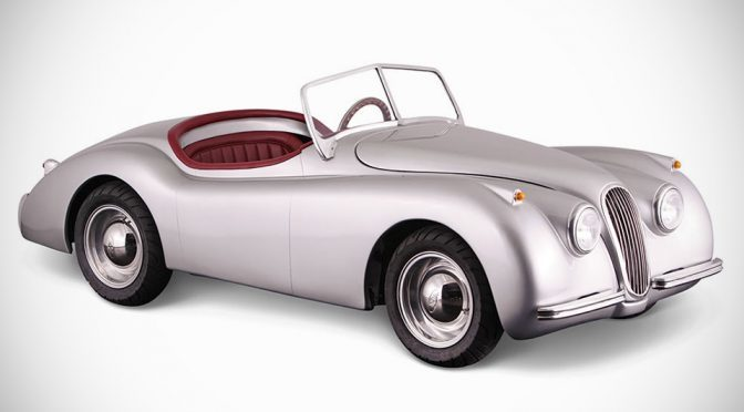 1:5 Scale Jaguar XK120 Is A Kiddie Ride For Grown Ups That Goes 38MPH