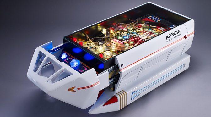 Star Trek Pinball Machine Coffee Table Is The Ultimate Furniture For Trekkies