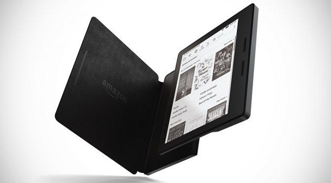 Amazon's New Kindle Oasis Breaks Kindle Design Tradition