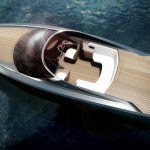 Aston Martin Unveils The Company's First Powerboat At Milan Design Week