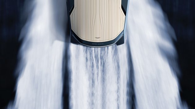 Aston Martin AM37 Powerboat by Quintessence Yachts