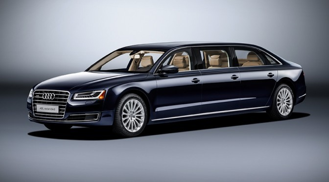 Audi's Extends The Already Long A8 L To An Even Ridiculous 20.9 Feet