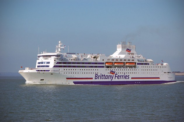 Brittanny Ferries Cruise Ferry