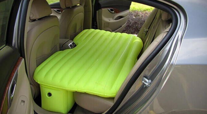 Car Travel Inflatable Bed