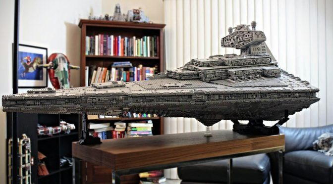 20,000-plus Pieces LEGO Star Destroyer Has Interior That Will Blow Your Mind