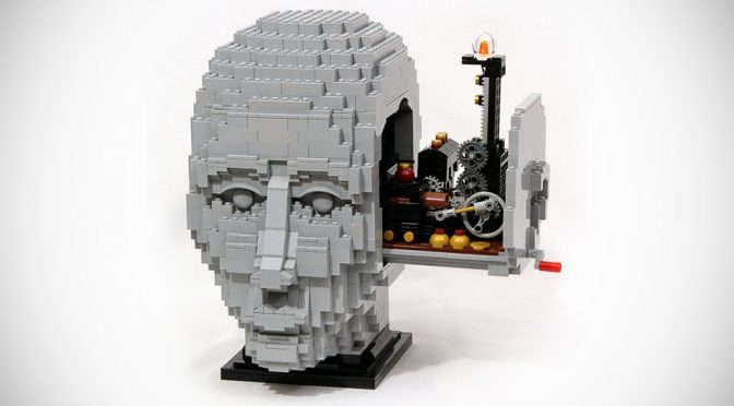 Artist Explores Engineer's Mind With This Awesome LEGO Kinetic Sculpture