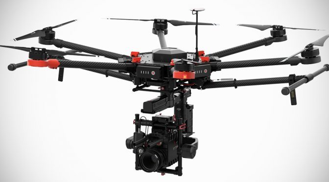 DJI Introduces New Professional Imaging Drone With 13 lbs Payload