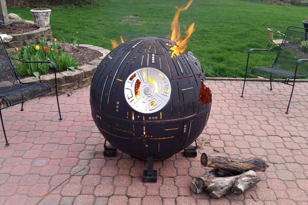 Death Star Fire Pit Is What Death Star Will Look Like If ...