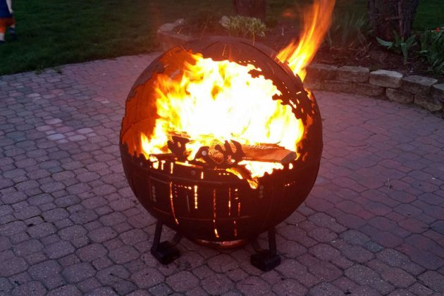 Death Star Fire Pit Is What Death Star Will Look Like If