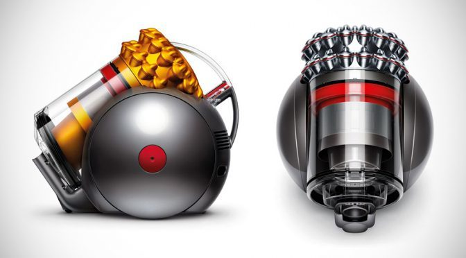Dyson Big Ball Cylinder: The Vacuum Cleaner That Can't Be Knocked Over
