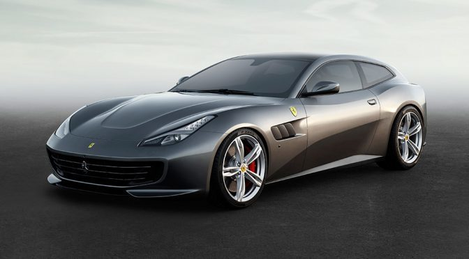 GTC4Lusso Is The First Ferrari With All-Wheel Drive And Rear-wheel Steering