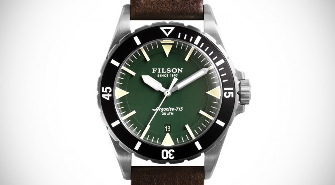 Filson Dutch Harbor Watches by Shinola