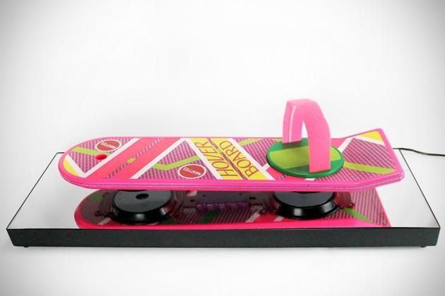 Floating Hoverboard Display by Createv