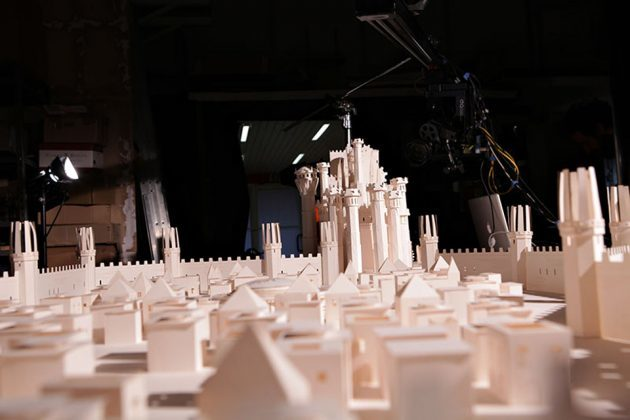 Game of Thrones Opening Sequence Recreated With Paper Cutouts