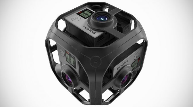 GoPro Omni Synchronized Six-Camera Spherical Rig