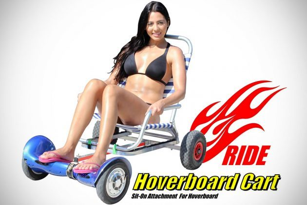 Hoverboard Cart Sit-on Attachment For Hoverboard