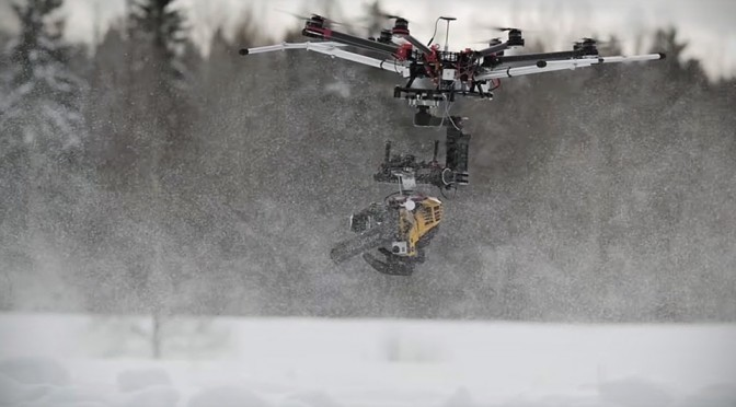 KillerDrone Flying Chainsaw