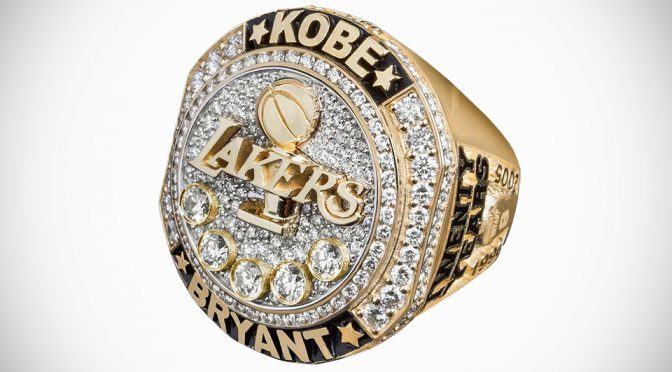 Lakers Presented Kobe Bryant And Wife With Lavish Retirement Rings