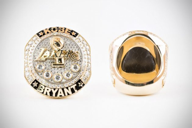Lakers Kobe Bryant Retirement Ring by Jason of Beverly Hills