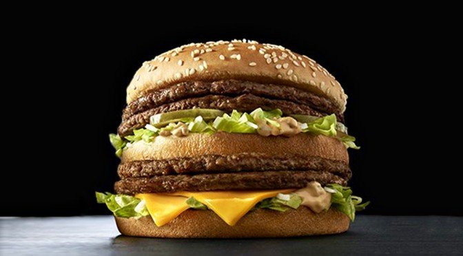 McDonald's Giga Big Mac