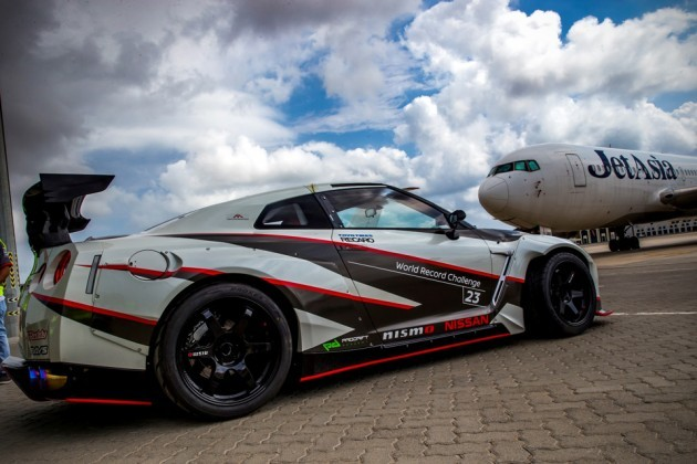 Nissan GT-R NISMO Set Fastest Drift