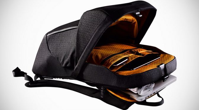 North Face Access Pack's Main Compartment Pops Up Like A Car's Hood