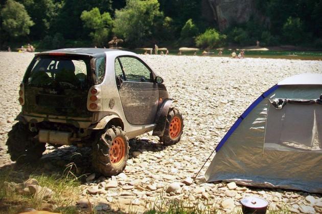 Off-road Smart Fortwo (1st Generation) by Gerogiy Kosilov